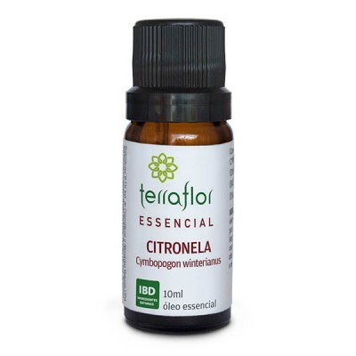 ÓLEO ESSENCIAL CITRONELA 10ML - TERRA FLOR