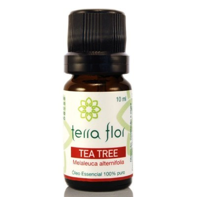 ÓLEO ESSENCIAL TEA TREE 10ML - TERRA FLOR  - Terra Dourada