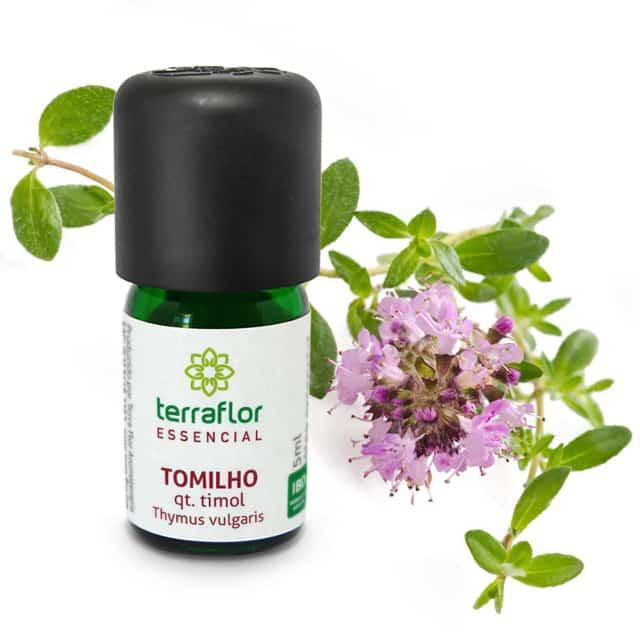 ÓLEO ESSENCIAL TOMILHO TIMOL 5ML - TERRA FLOR