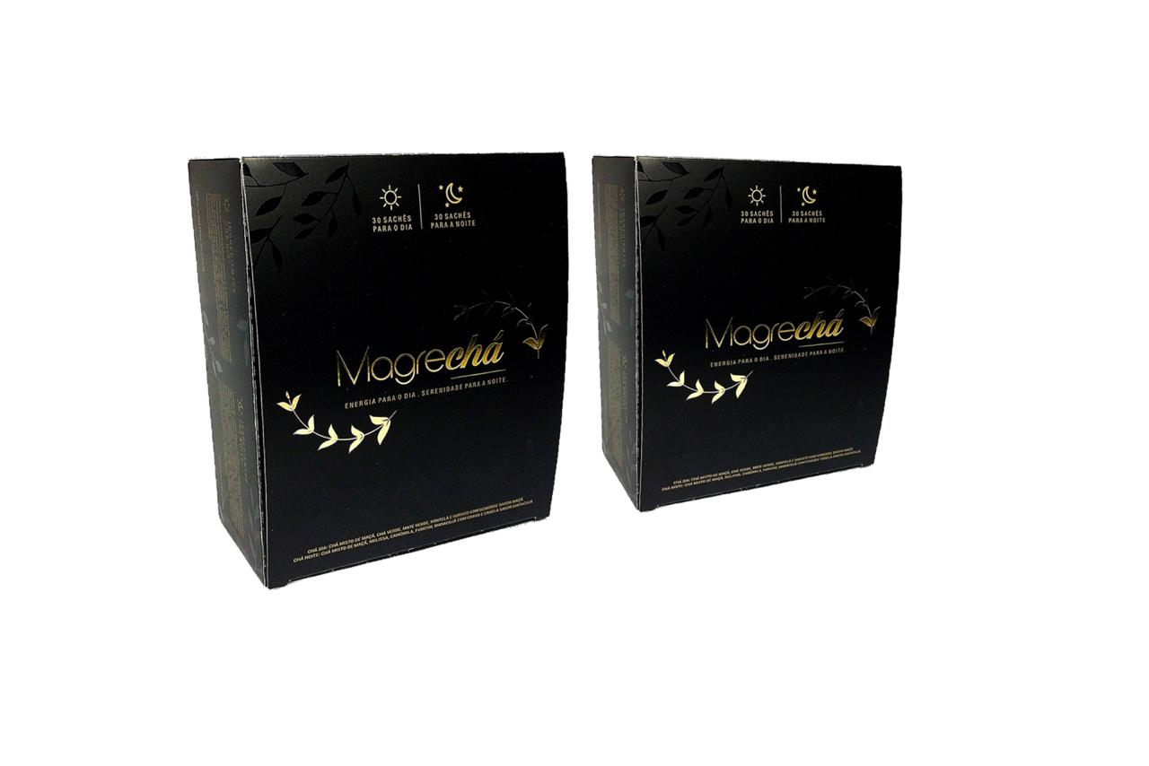 Combo 02 Unid. - Super Magrechá Sachês - Chá Emagrecedor Ekobé