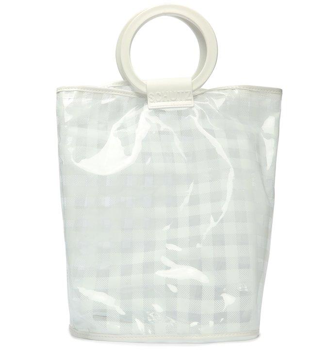 2 em 1 - Flat & Tote Bag White