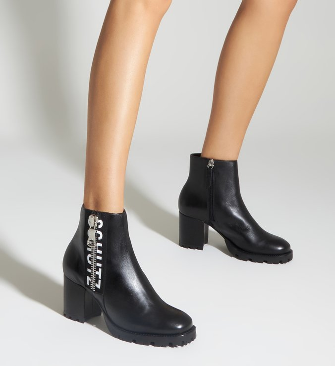 Ankle Boot Tratorada
