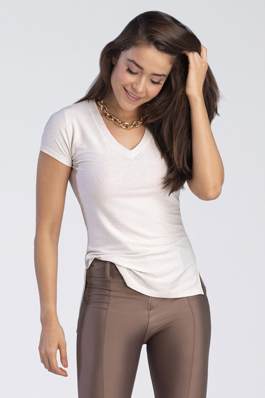 Blusa Lurex Silver