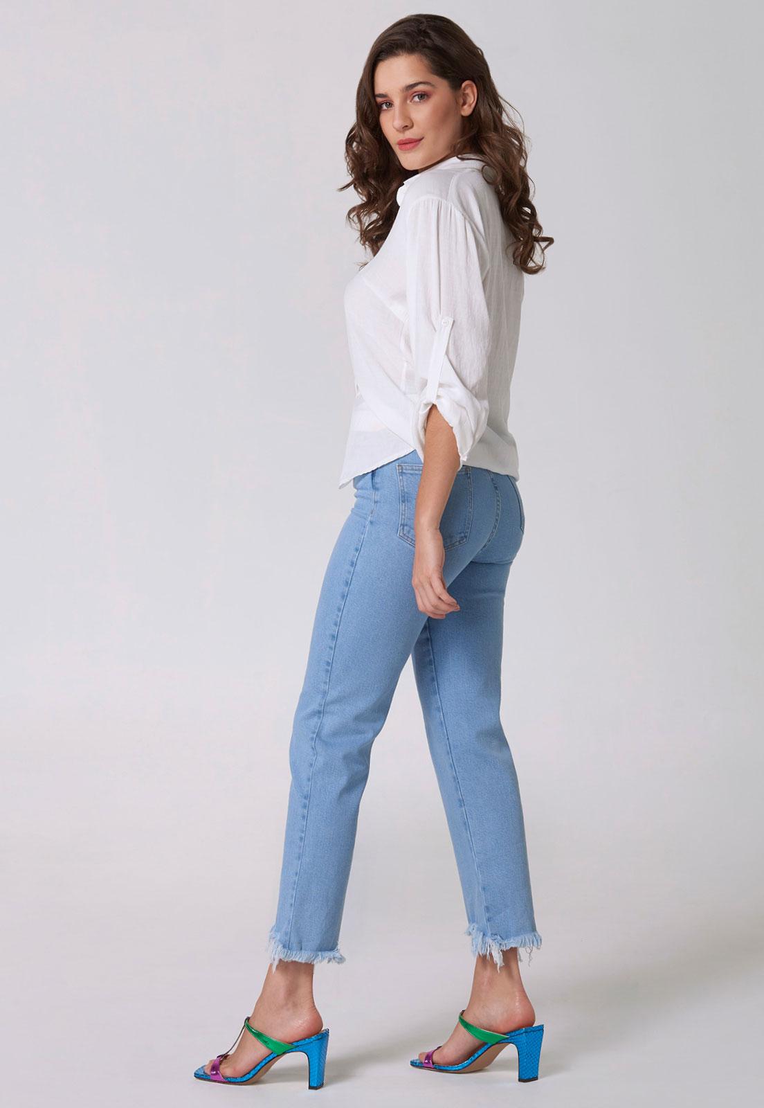 Calça Jeans Confort