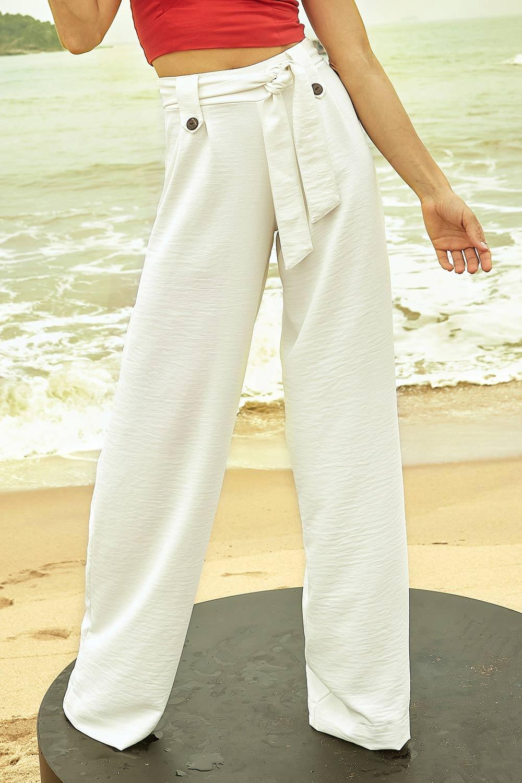 Calça Pantalona Del Fiore