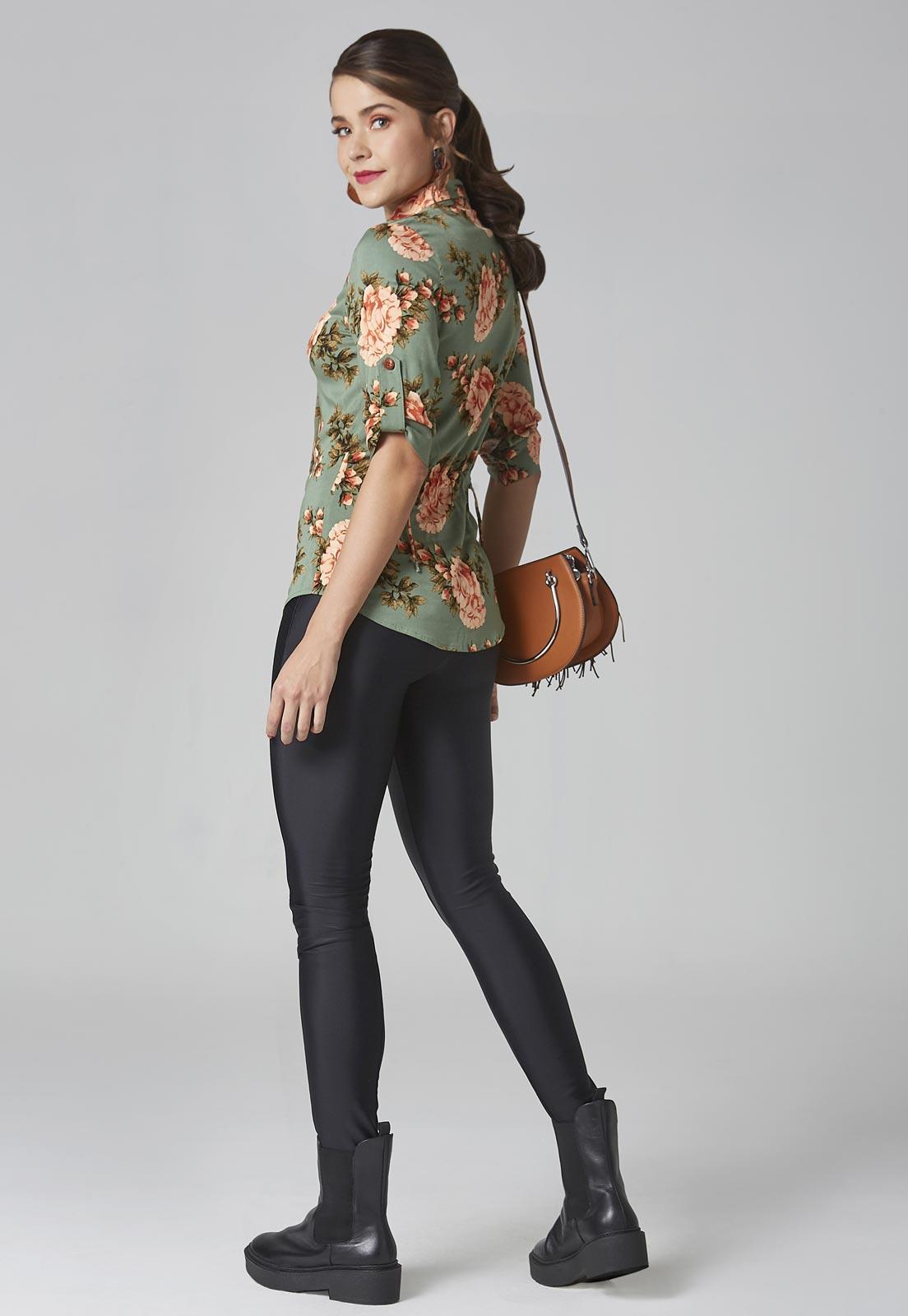 Camisa Floresça