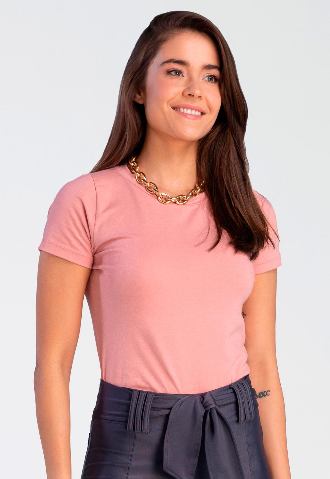 T-shirt Bia Rosê