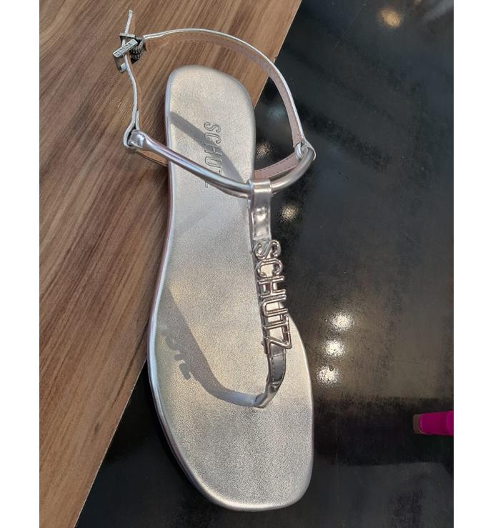 Flat Crystal Mnimal Silver
