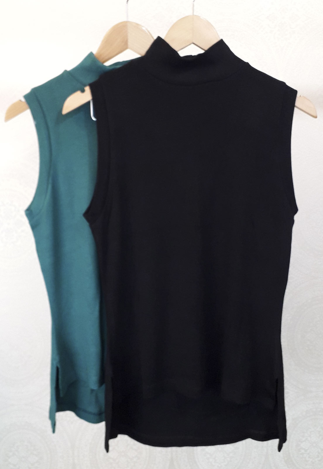 Kit c/ 2 T-shirts Helô - Preta e Verde