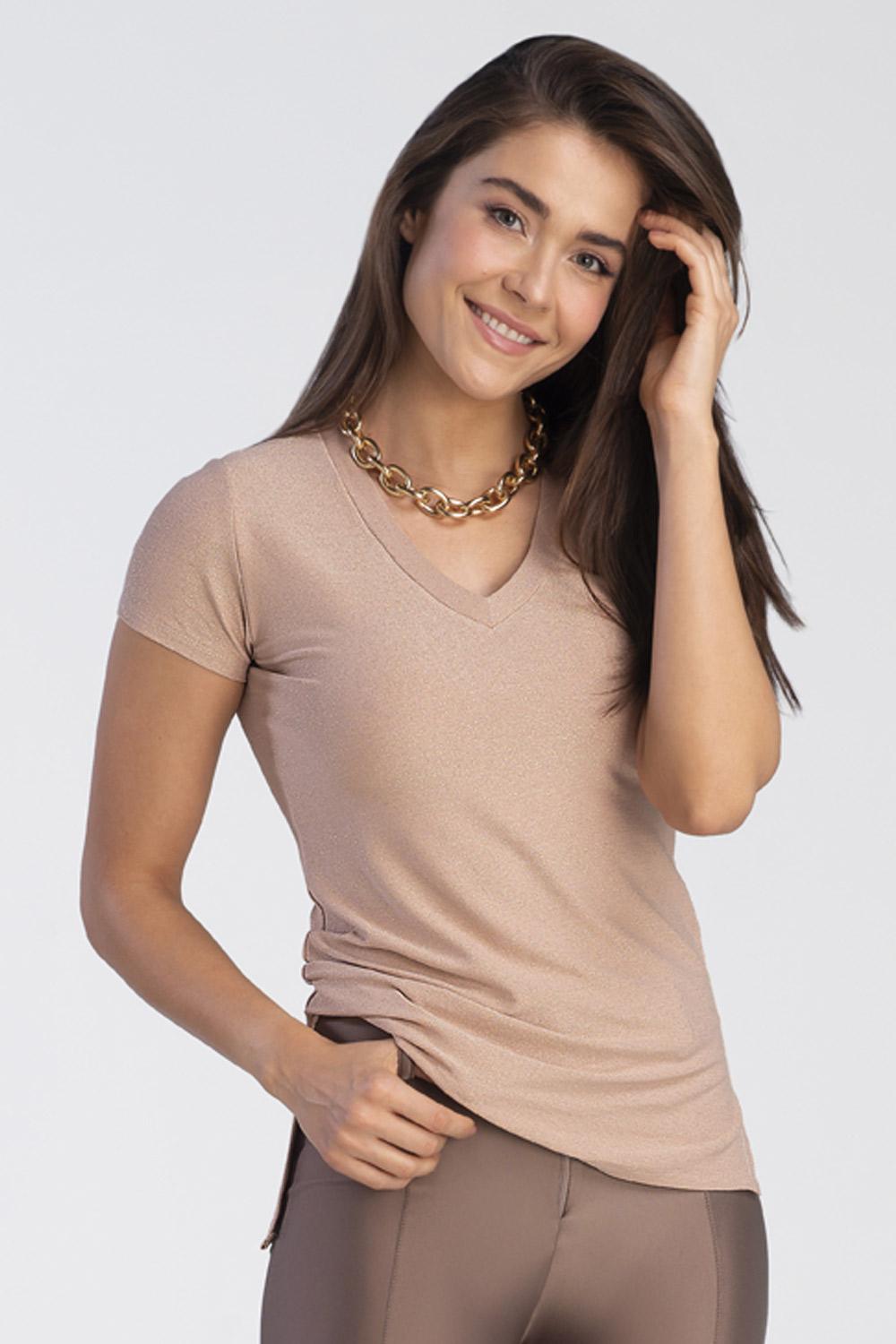 Kit c/ 2 T-shirts Lurex - Gold e Silver