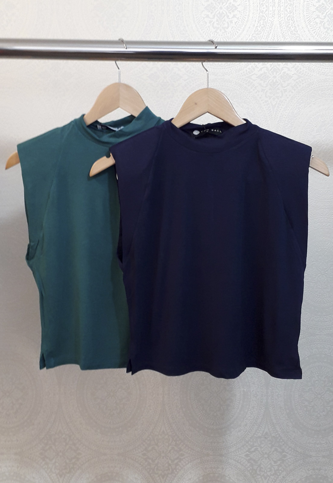 Kit c/ 2 T-shirts Maia - Azul e Verde