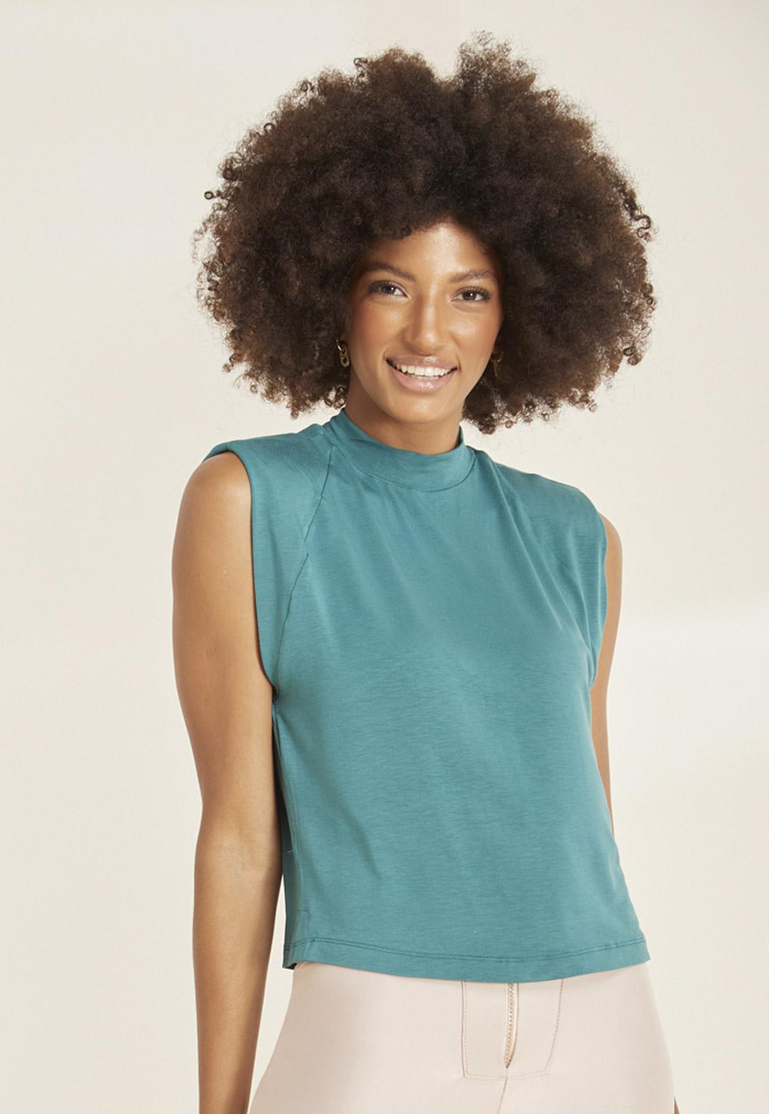 Kit c/ 2 T-shirts Maia - Verde e Rosa