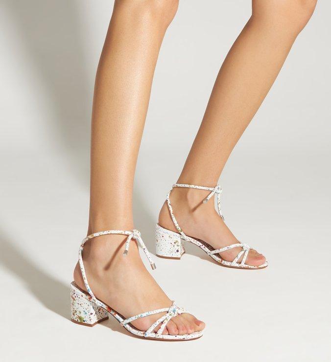 Sandália Block Heel Splash