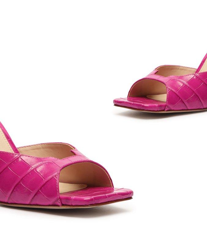 Mule Geometric Pink