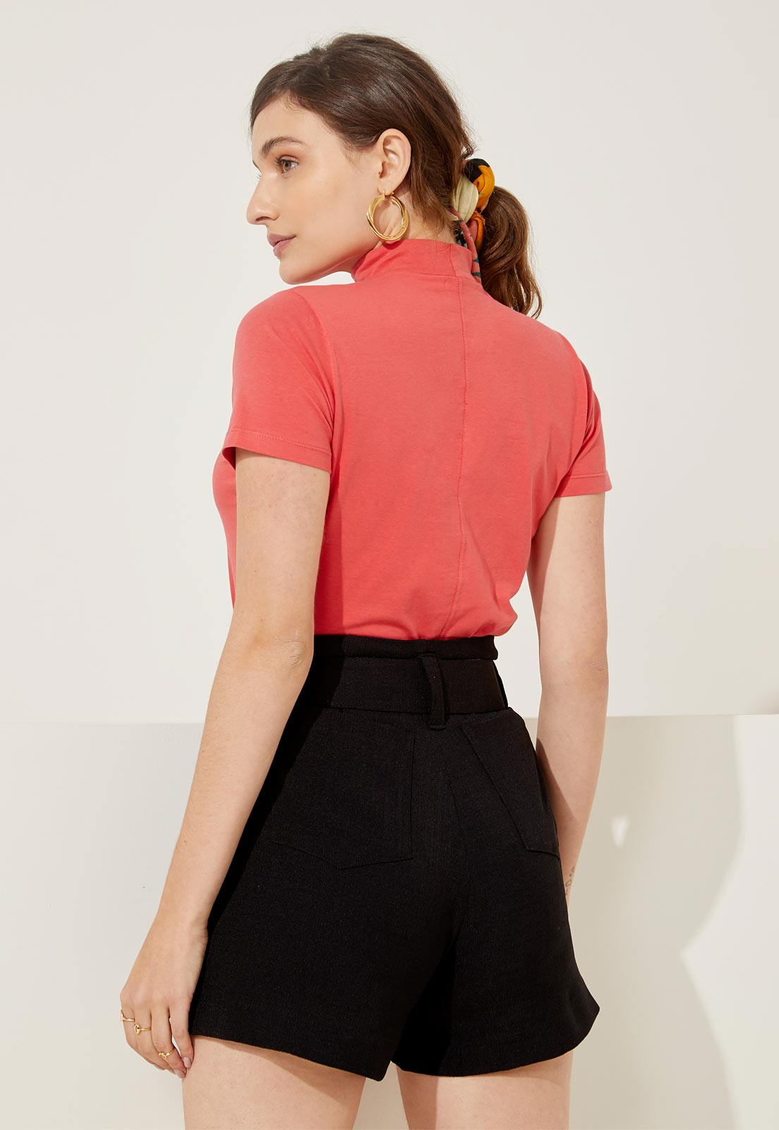 T-shirt Ana Burnt Coral