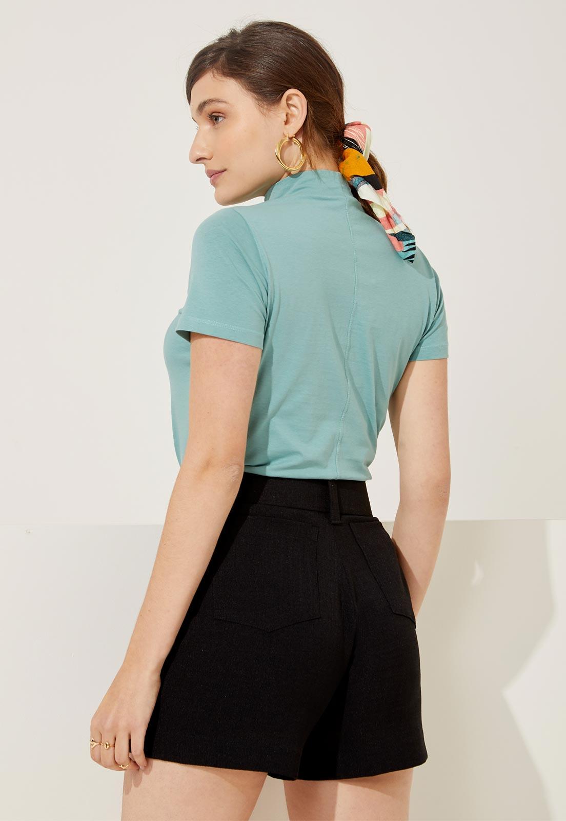T-shirt Ana Green Ash