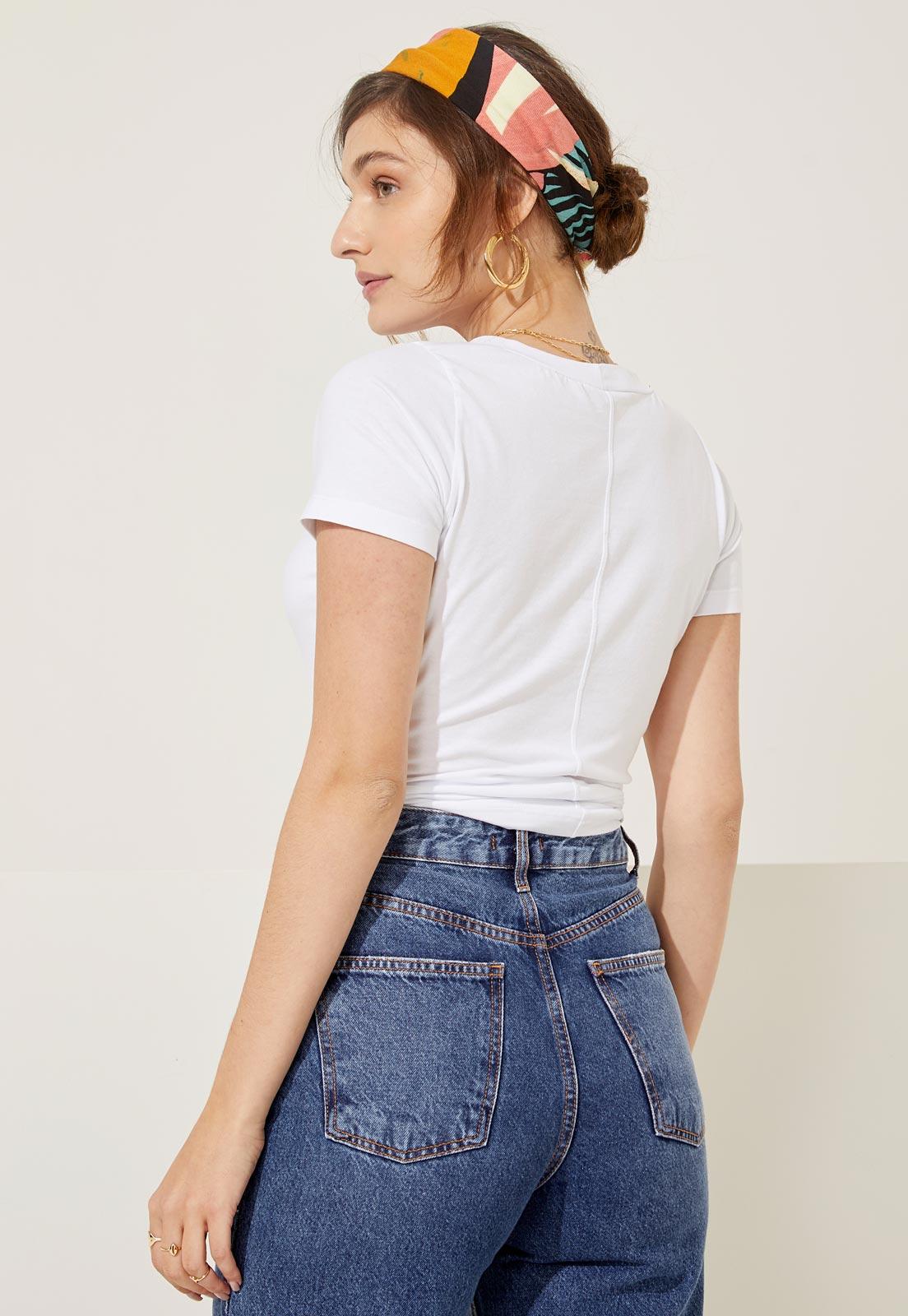 T-shirt Bia Branca