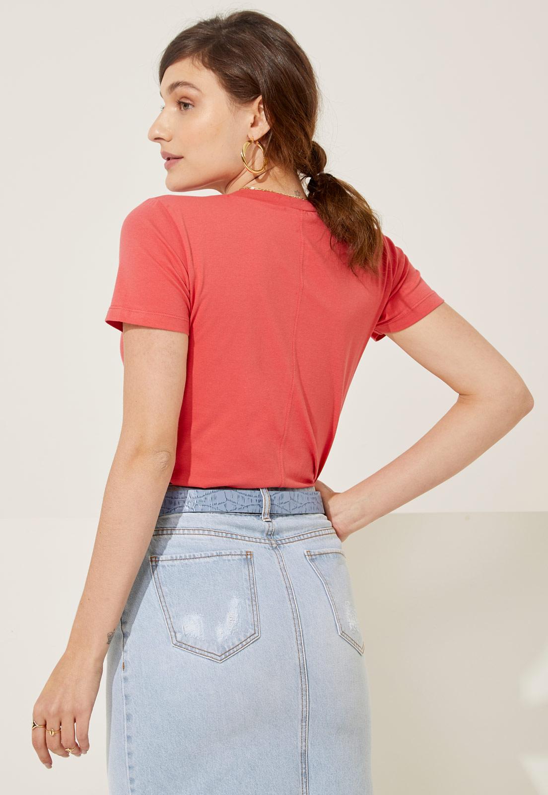 T-shirt Helen Burnt Coral