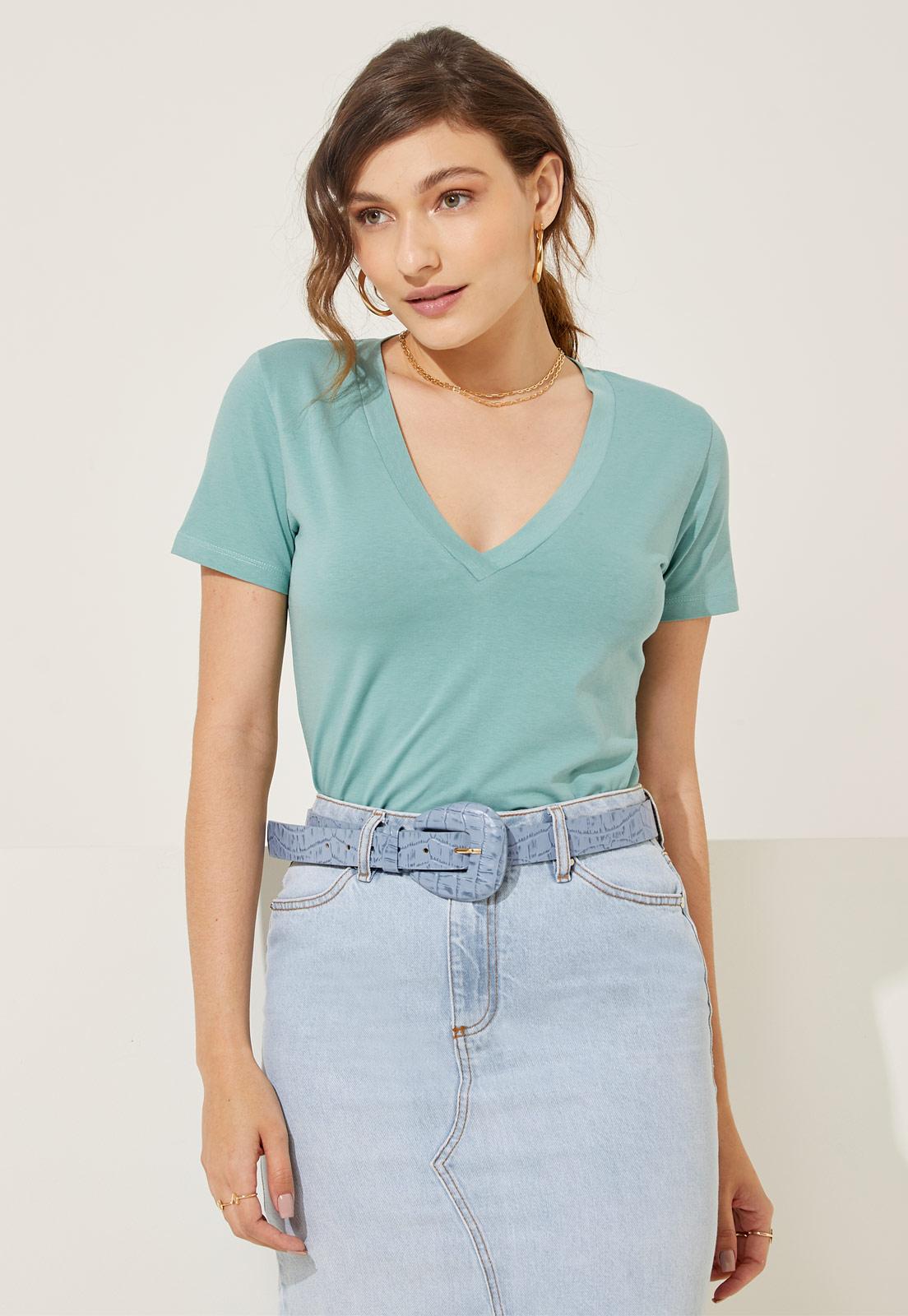 T-shirt Helen Green Ash