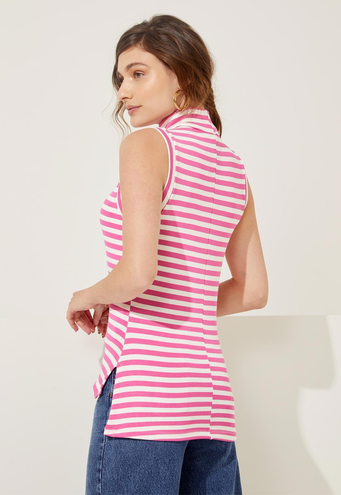 T-shirt Jana Pink Stripes