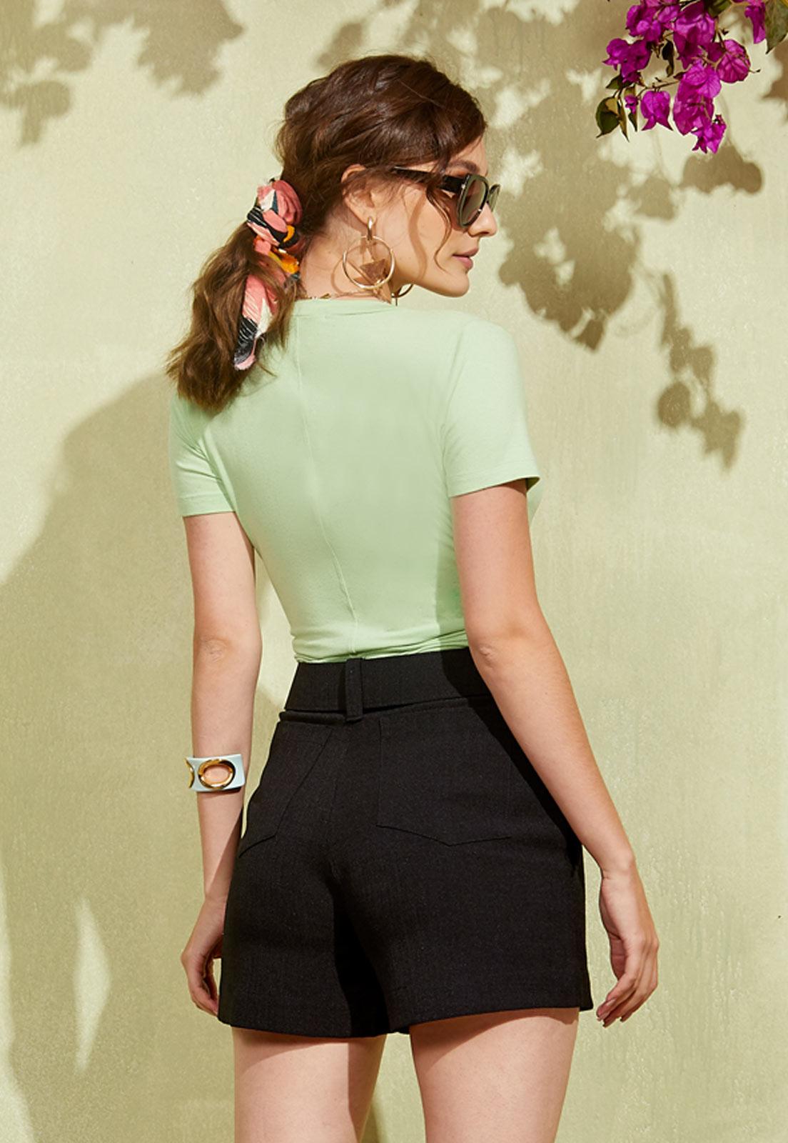 T-shirt Yara Misty Jade