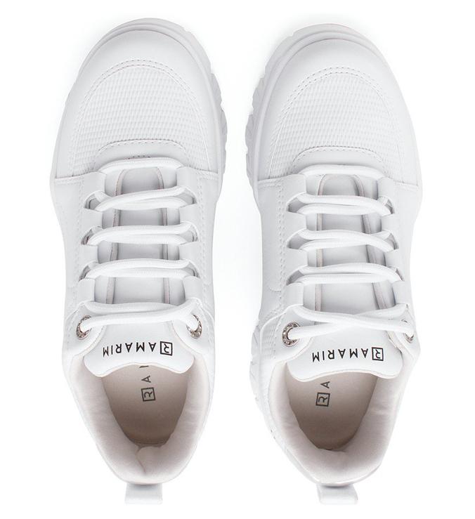 Tênis Branco Believe Sintético Sola Alta Cadarço