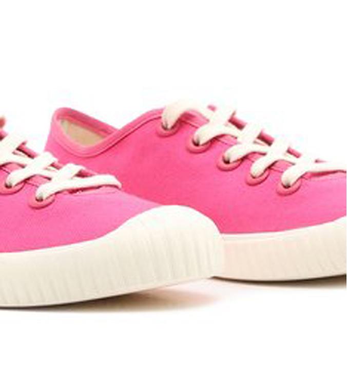 Tênis Rosa Pink Lona Alê