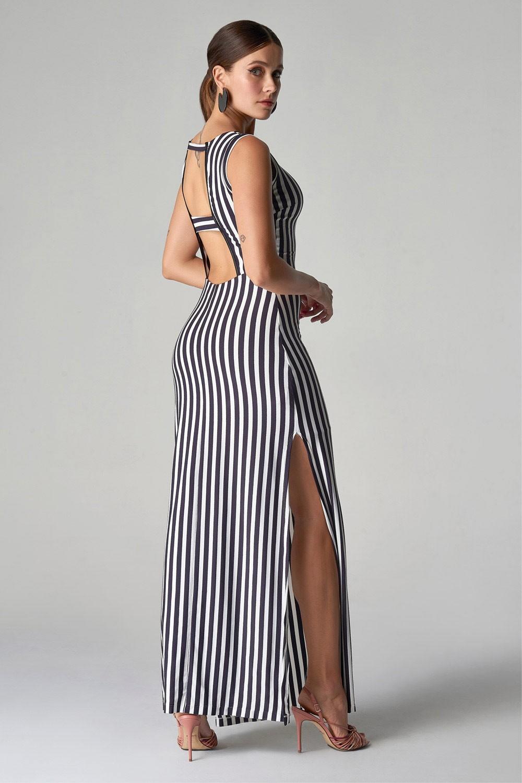 Vestido Linhas