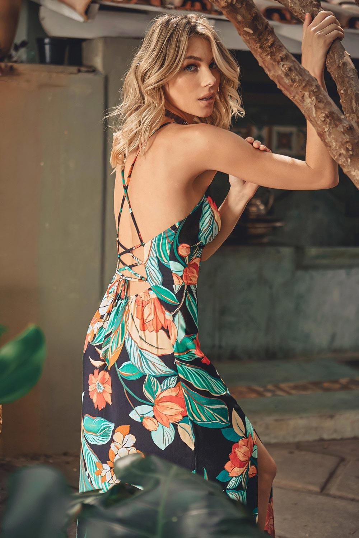 Vestido Longo Tropicalia