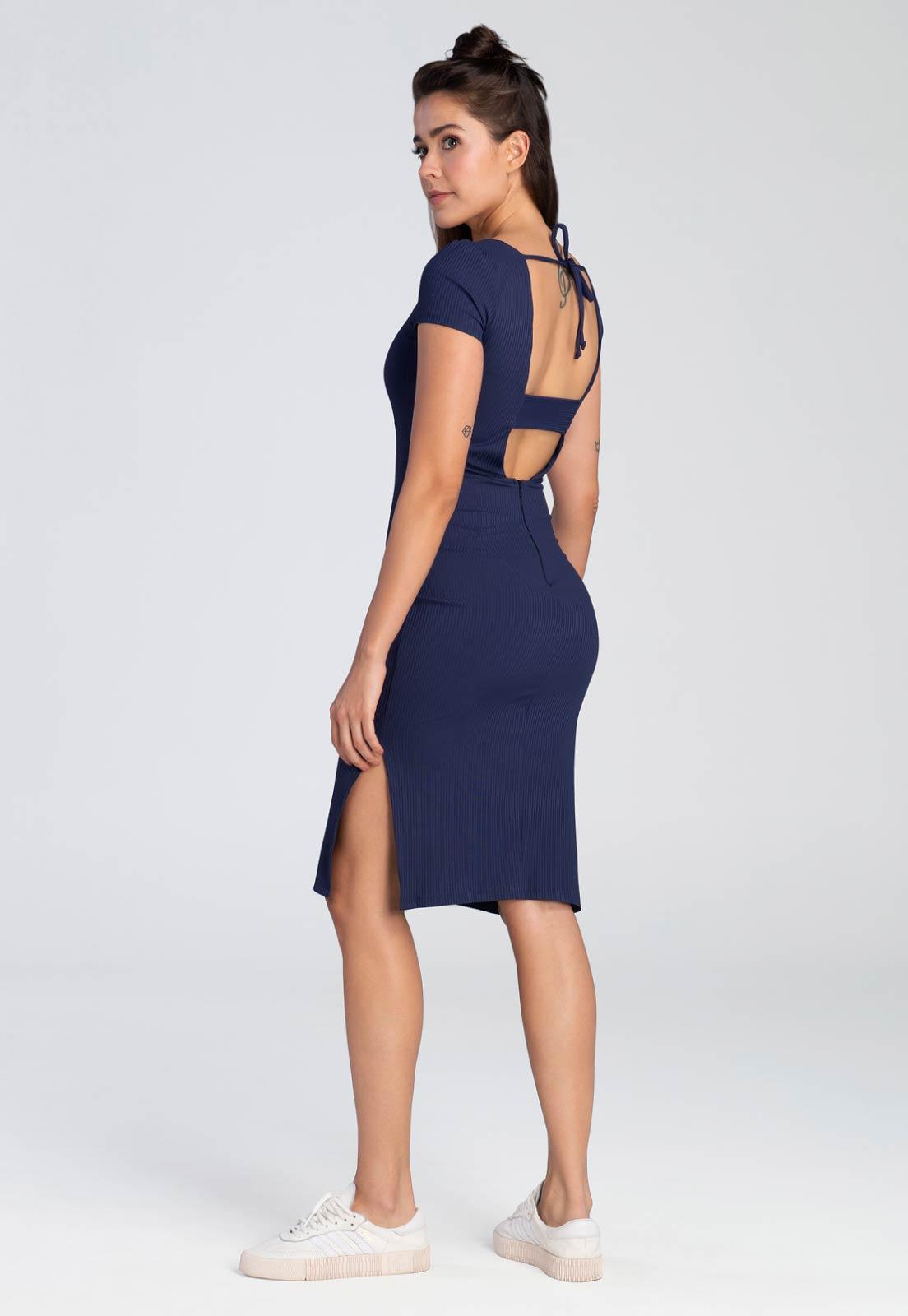 Vestido Midi Blue