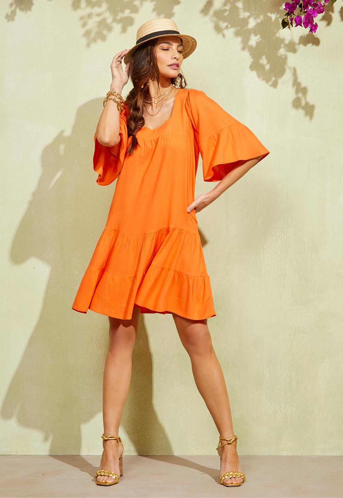 Vestido Orange