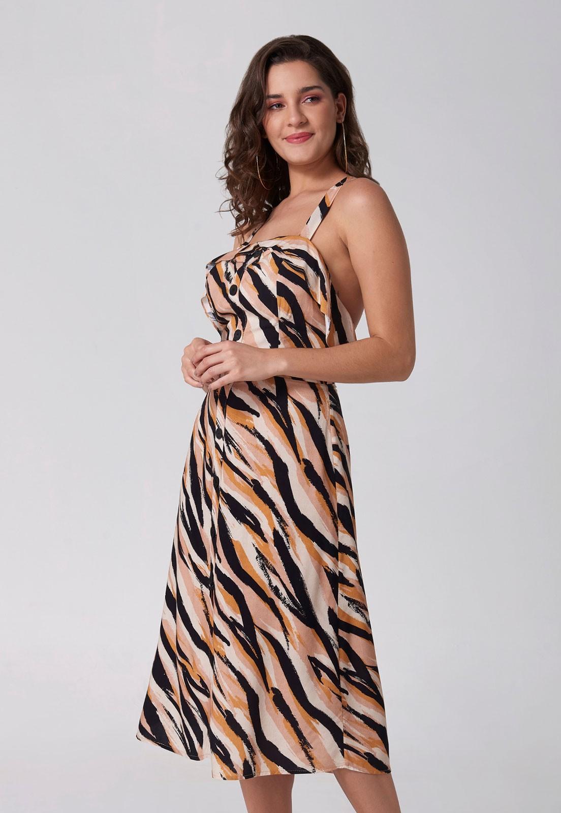 Vestido Safari