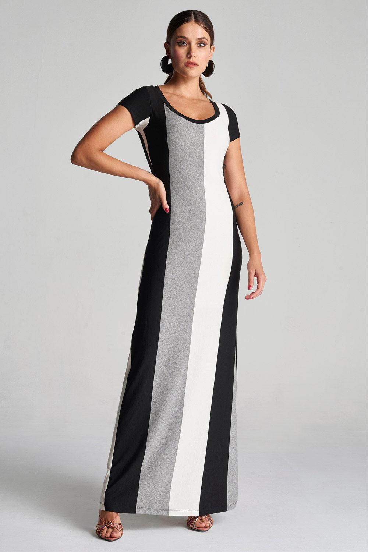 Vestido Stripe