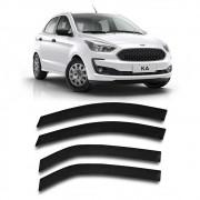 Calha Chuva Ford Ka Hatch Sedan 2014 a 2020 4 Portas