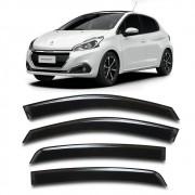 Calha Chuva Peugeot 208 Hatch 2013 a 2020 4 Portas