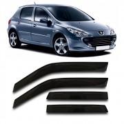 Calha Chuva Peugeot 307 2001 a 2012 4 Portas