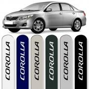 Friso Lateral Corolla 2008 a 2014 Cores