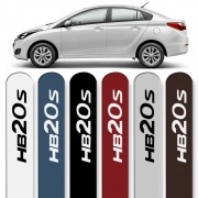 Friso Lateral HB20S Sedan 2012 a 2019 Cores