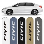 Friso Lateral New Civic 2012 a 2016 Cores