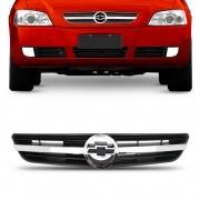 Grade Astra 2003 a 2010 Frontal Com Friso Moldura Cromado