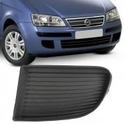 Grade Parachoque Fiat Idea 2005 a 2010 Sem Furo