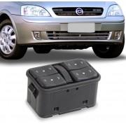 Interruptor Vidro Eletrico Corsa Celta 2002 a 2012 Quadruplo Motorista