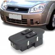 Interruptor Vidro Eletrico Fiesta Amazon 2003 a 2014 Duplo Motorista