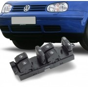 Interruptor Vidro Eletrico Golf Bora 1998 a 2012 Passat 1998 a 2005 Quadruplo Motorista