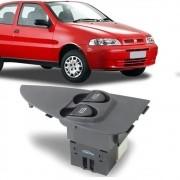 Interruptor Vidro Eletrico Palio 2001 a 2015 Indicador Grande Duplo Motorista