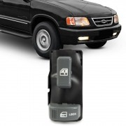 Interruptor Vidro Eletrico S10 Blazer 1995 a 2011 Silverado 1997 a 2002 Simples Passageiro