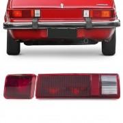 Kit Lanterna Traseira Chevette Hatch 1980 a 1982 Canto Tampa Rubi