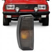 Lanterna Dianteira Gol Parati Saveiro Voyage 1982 a 1986 Pisca Fume