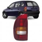 Lanterna Traseira Corsa Hatch 1994 a 1999 Tricolor 4 Portas