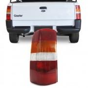 Lanterna Traseira Courier 1996 a 2010 Tricolor